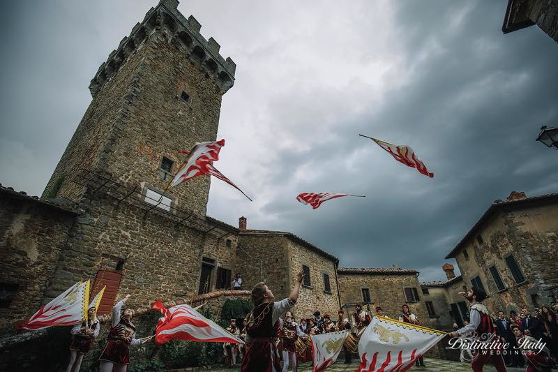 tuscany castle wedding 66