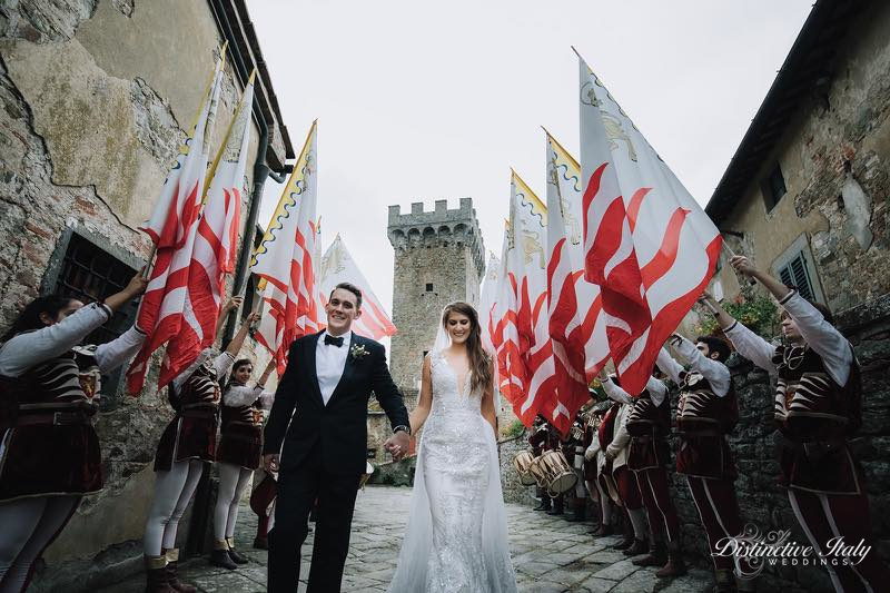 tuscany castle wedding 71