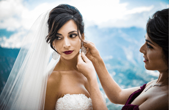 WEDDING HAIR and MAKEUP in ITALY