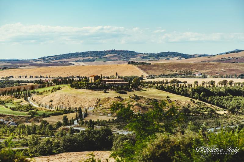 Tuscany wedding in Pienza 04