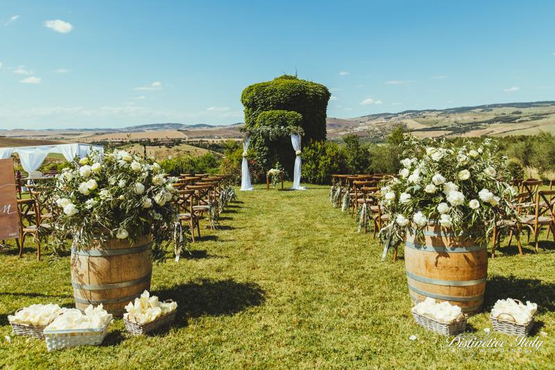 Tuscany wedding in Pienza 13