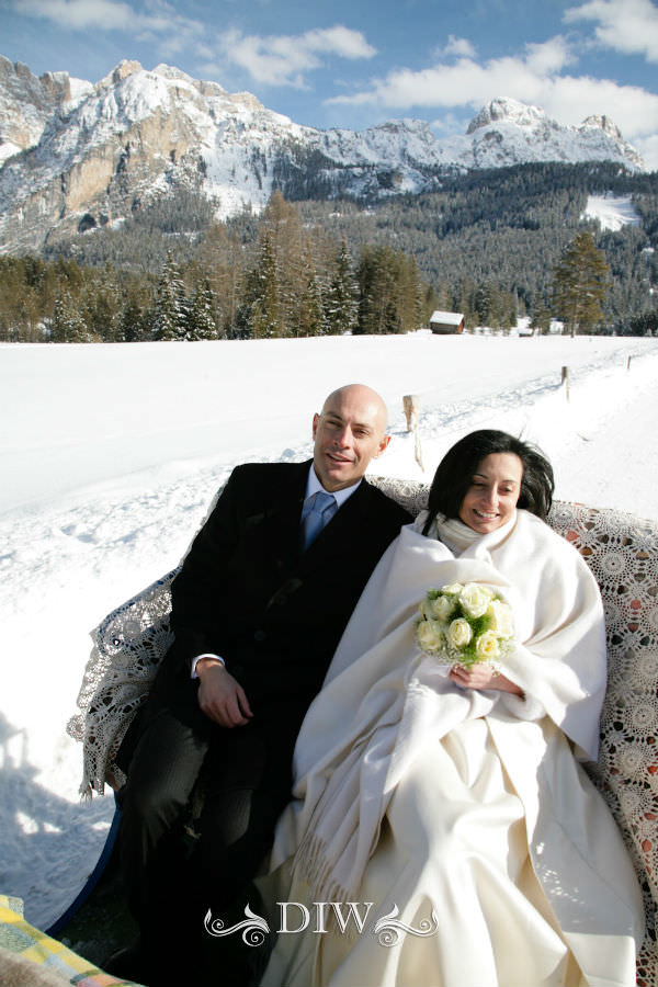 alpine wedding in italy