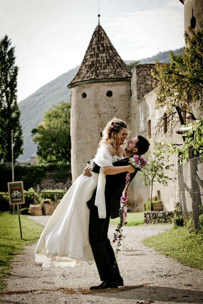 Wedding in Italy castle