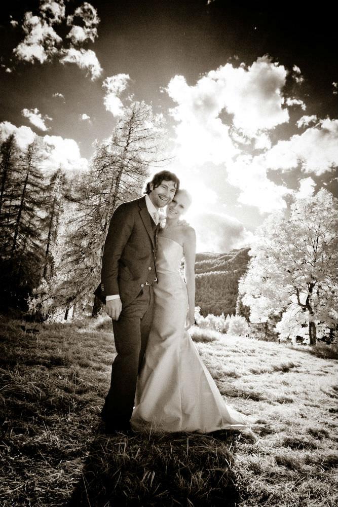 Cortina D'Ampezzo wedding couple
