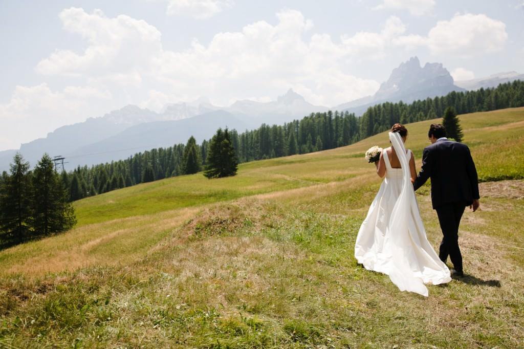 Italy wedding couple