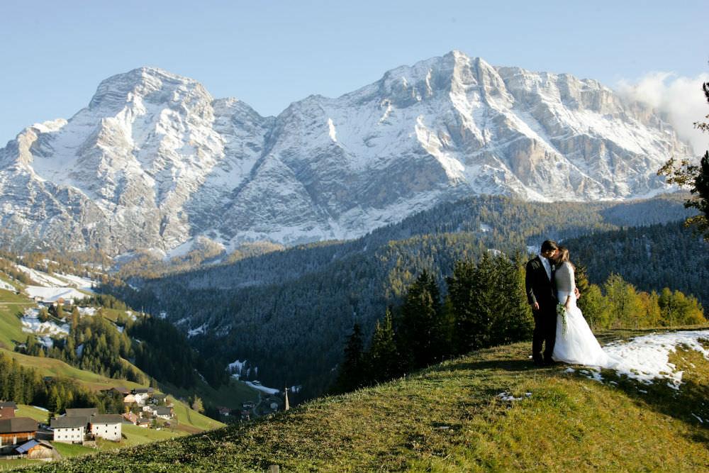 wedding in italian alps