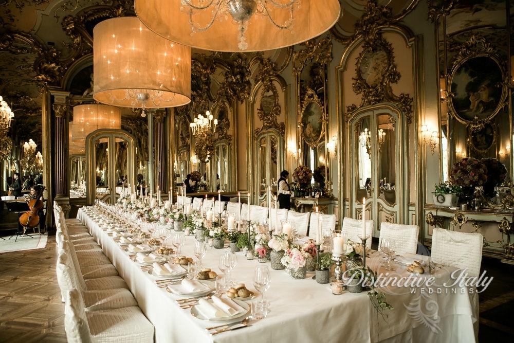 Florence wedding reception