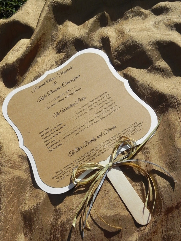 Italy_wedding_program_fan