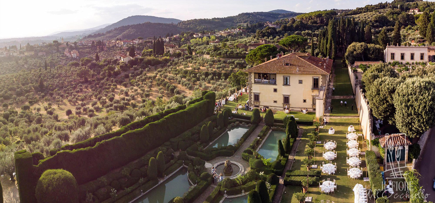 A Romantic Tuscany Wedding