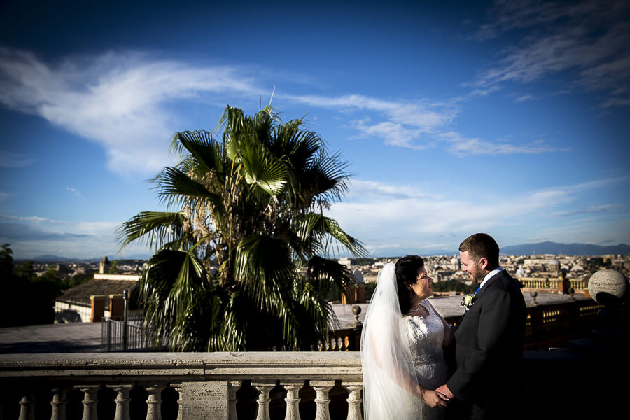 Betty and Conor - Castle Wedding in Rome