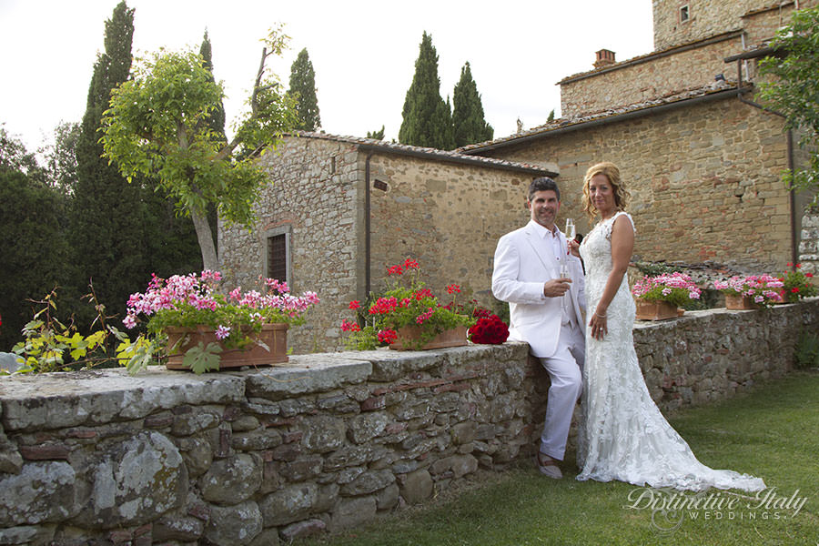 April and Marc - Wedding in Tuscany Castle