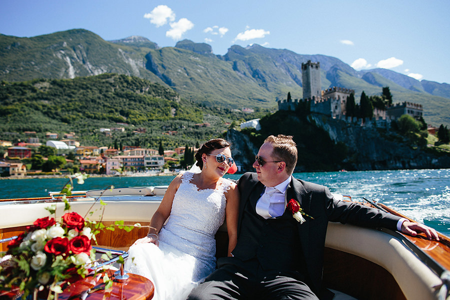 Brea and Tom - Wedding in Malcesine, Lake Garda