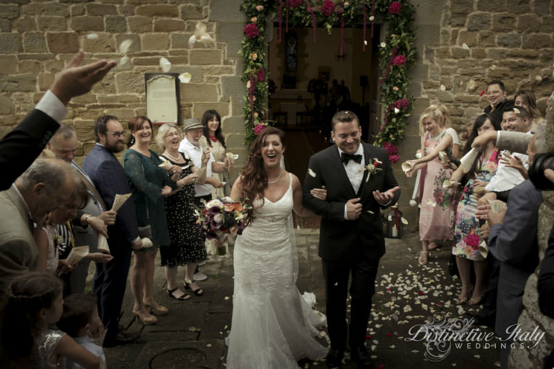 Carmen and Steve - Wedding in Tuscany
