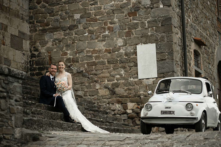 Natalie and Barry - Wedding in Tuscany