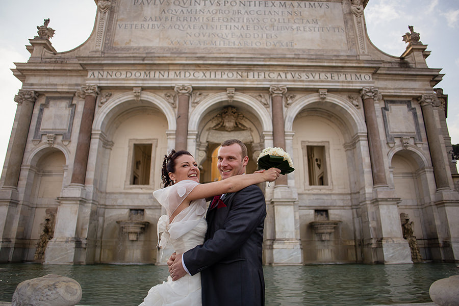 Olivia and Paul - Wedding in Rome