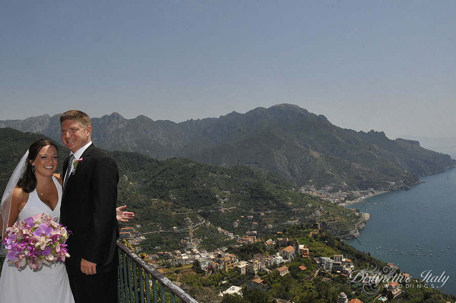 Rachel and Matt - Wedding in Amalfi Coast, Ravello