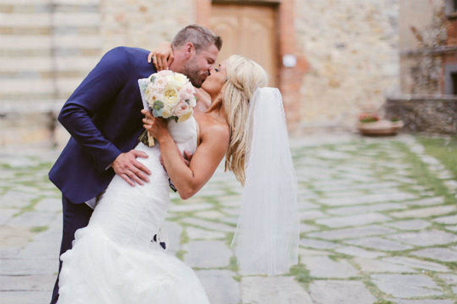 Rebecca and Elliot - Wedding in Tuscany