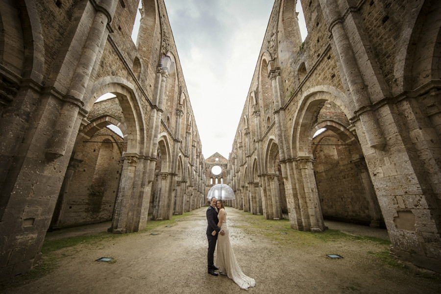 Victoria and Josh - Wedding in Tuscany
