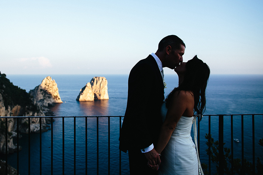 Yamilet and David - Wedding in Capri