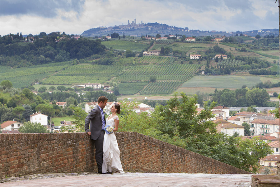 Zoe and Ed - Wedding in Certaldo, Tuscany