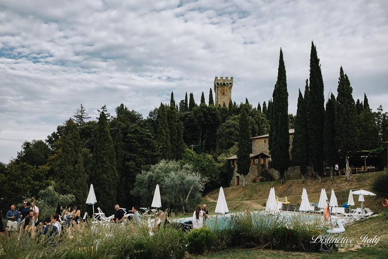 tuscany castle wedding 20