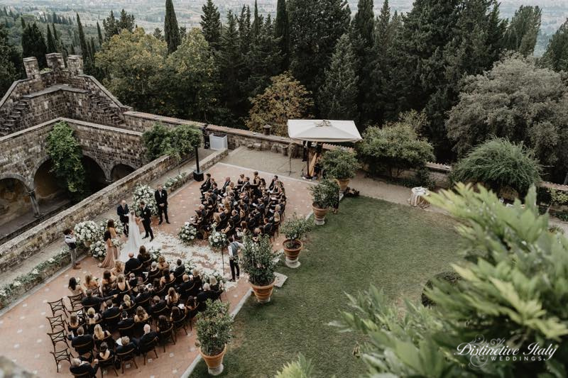 tuscany castle wedding 22