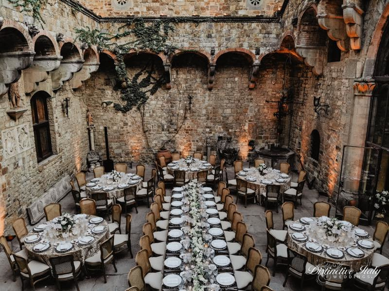 tuscany castle wedding 37