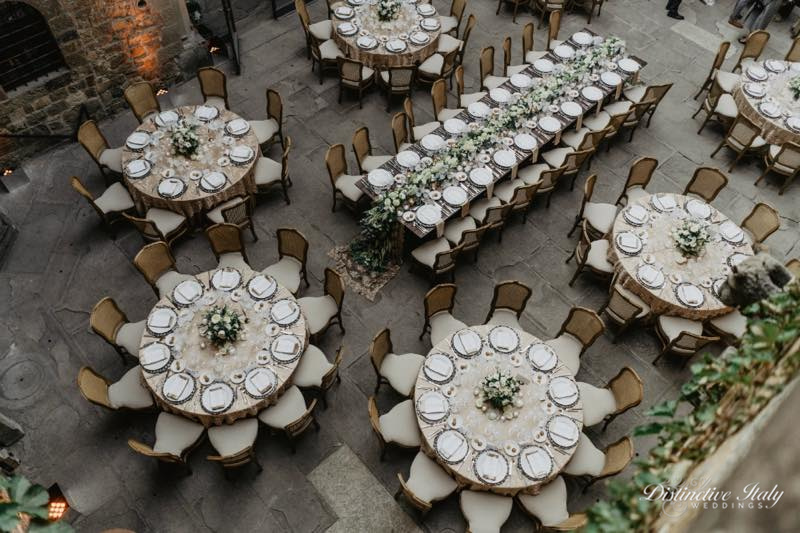 tuscany castle wedding 40