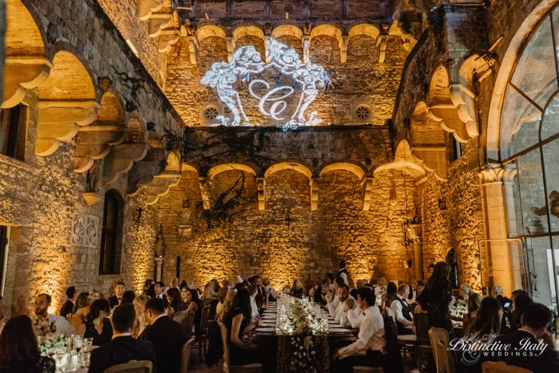 tuscany castle wedding 52