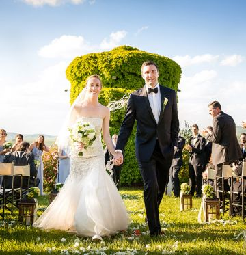 Caitlin and TylerWedding in Tuscany