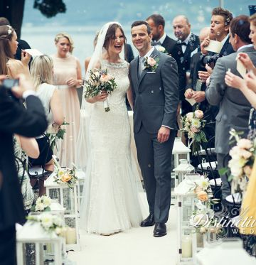 Elinor and VegarLake Como Wedding