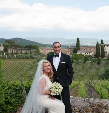 Laura and EfriWedding in Tuscany