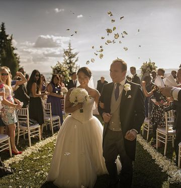 Wen Li & JamesVilla wedding in Tuscany