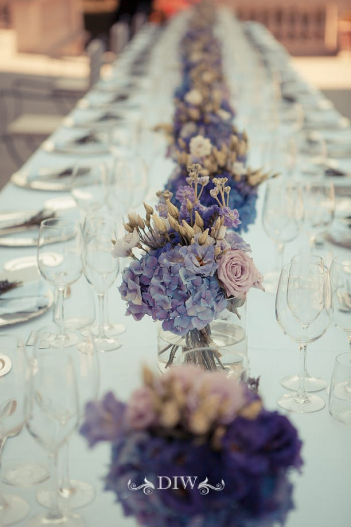 25 Florence wedding reception table