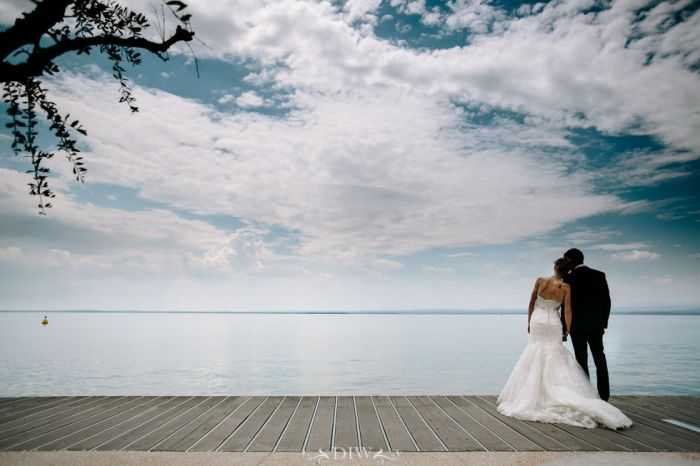 55 Lake Garda wedding boardwalk