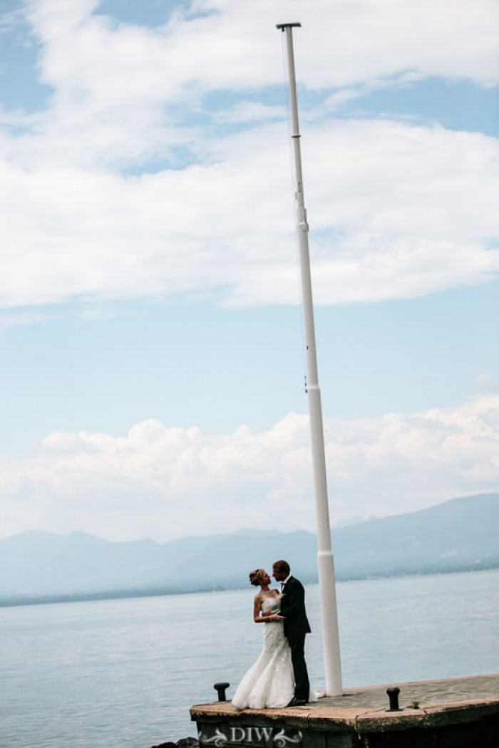 60 Italian Lakes wedding couple