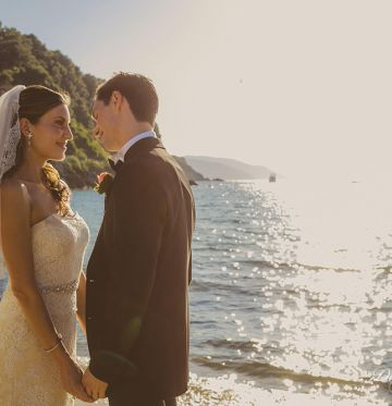 Megan and NikolausWedding in Island of Elba