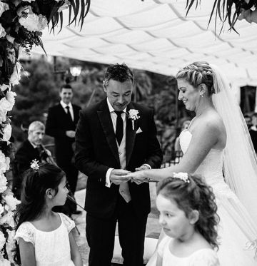 Aimee and RaymondWedding in Portofino