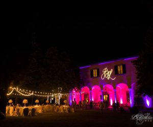 wedding in italy music lights-11