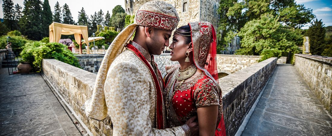 Indian Wedding at Vincigliata Castle