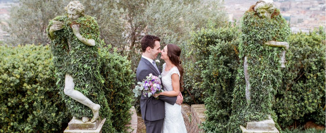 Jewish Wedding at Villa Miani
