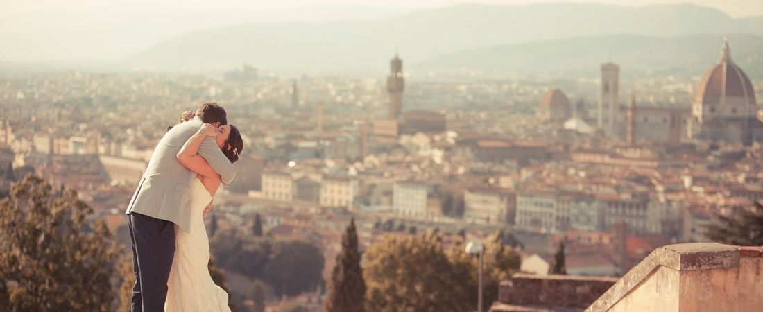 Romantic Florence Wedding