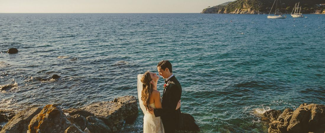 Exotic Island Wedding in Tuscany