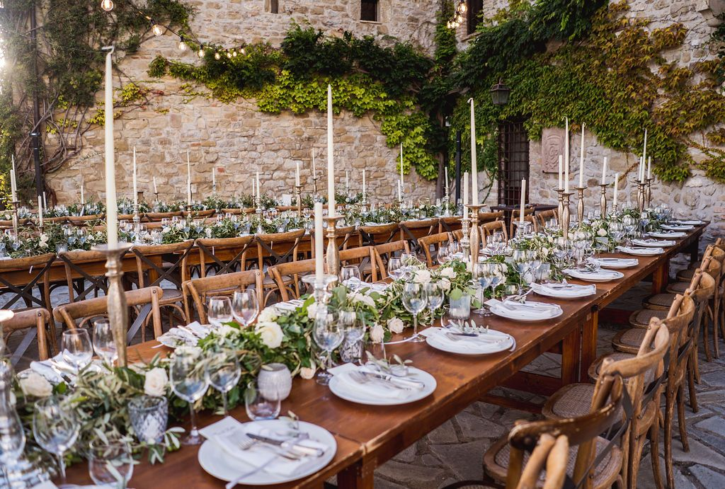 Reception design ideas for your Italy wedding