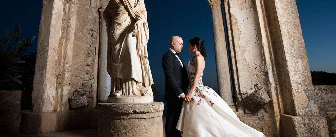 Villa Cimbrone Wedding in Ravello