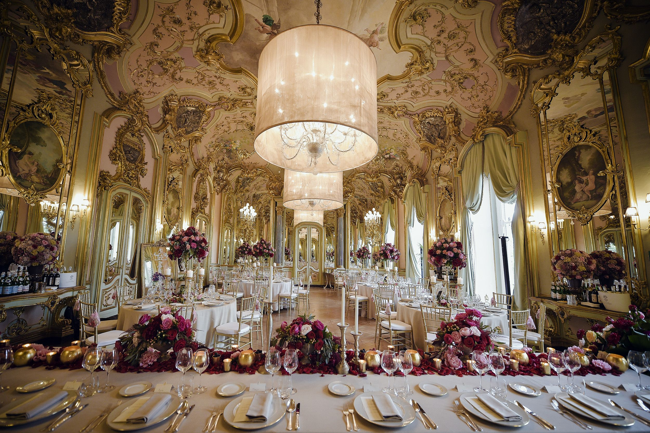 Elegant Florence wedding at Villa Cora