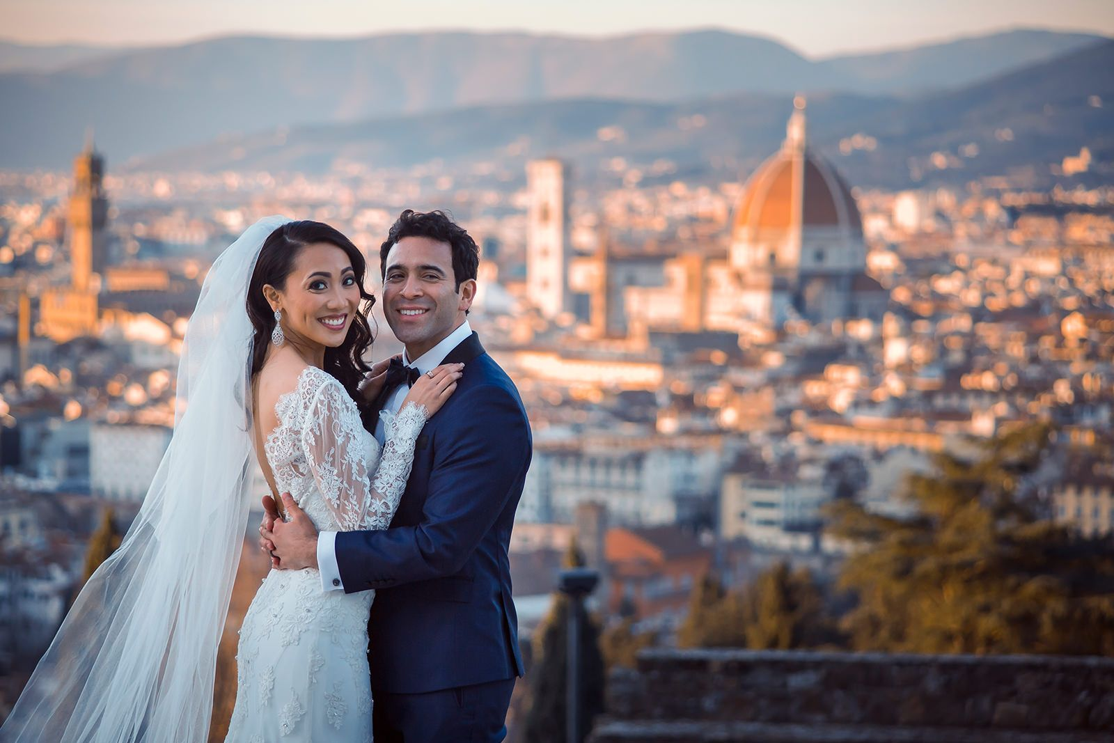 Luxury wedding in Florence at Villa Cora