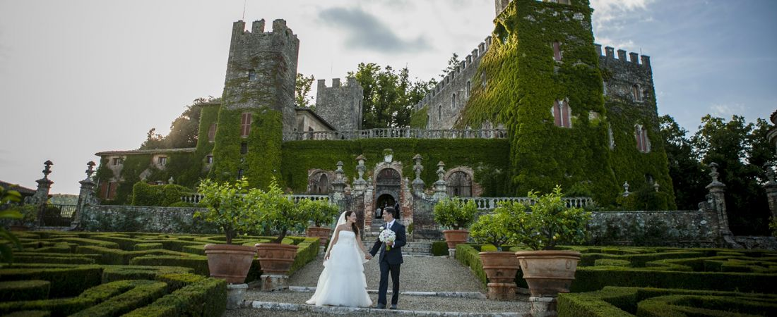 Fairy Tale Castle Wedding in Tuscany